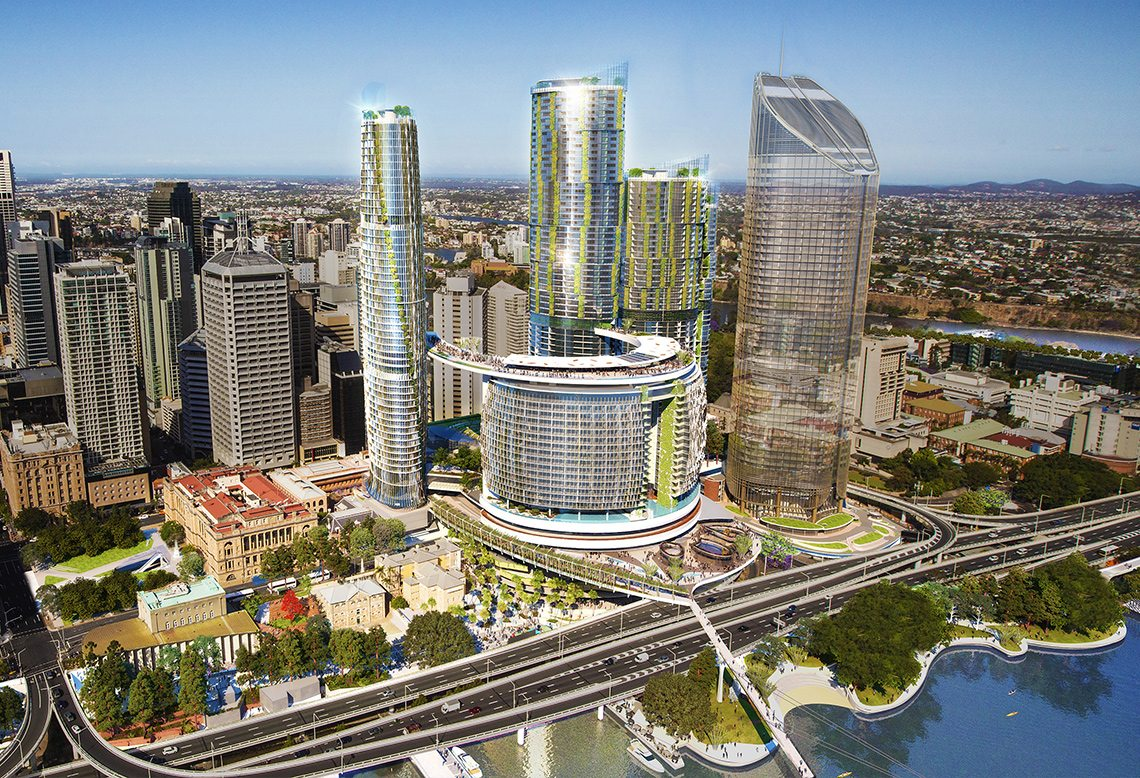 Brisbane Real Estate And Queens Wharf 1